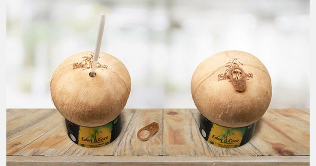 Coconut water with no preservatives or additives