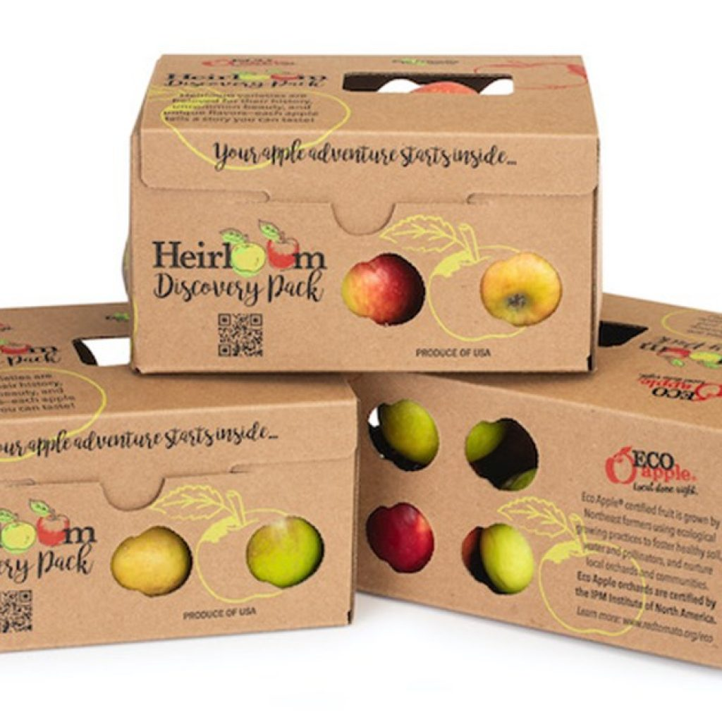 New Heirloom Apple Discovery pack showcases eco-friendly packaging