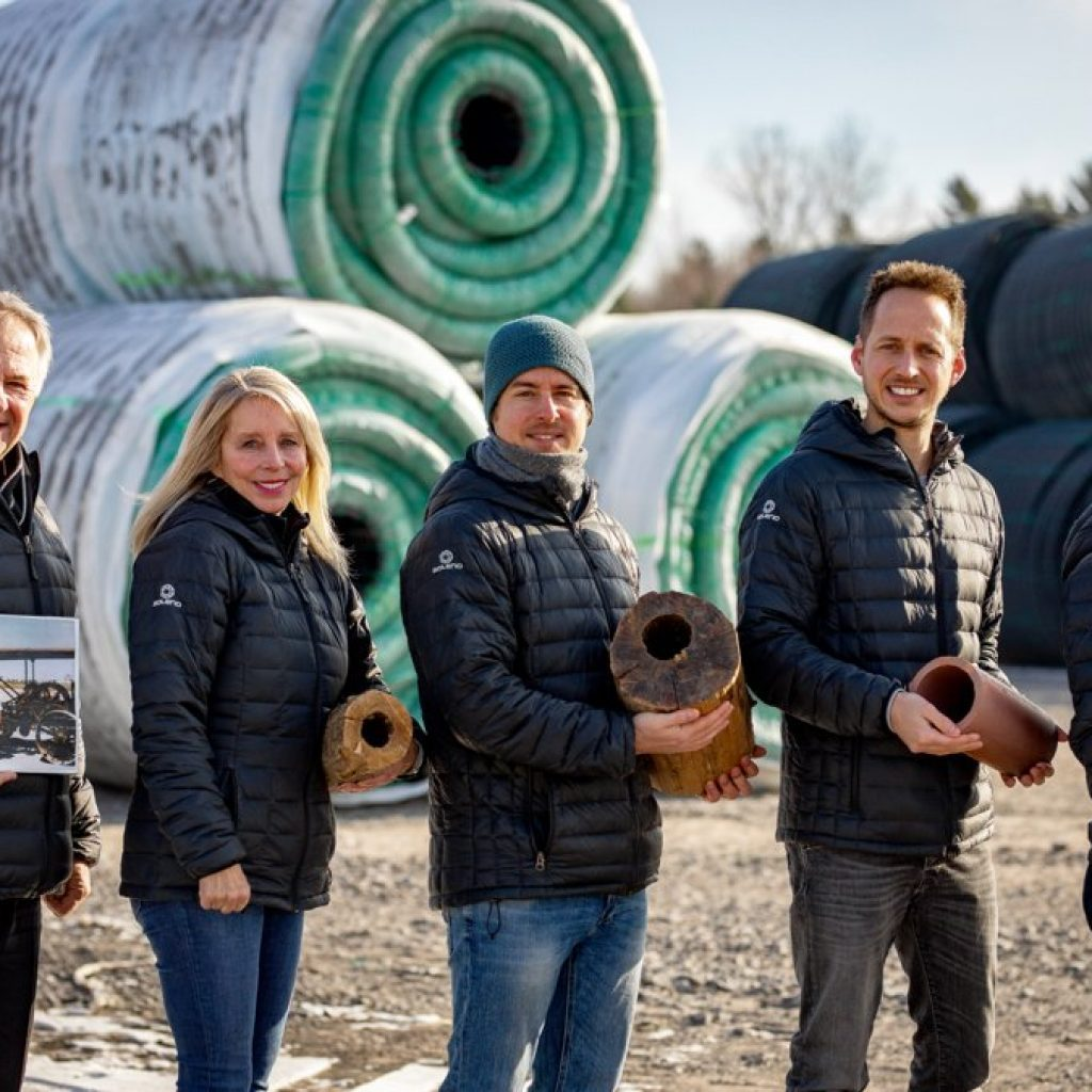 Bluewater Pipe-Soleno deal brings together family businesses