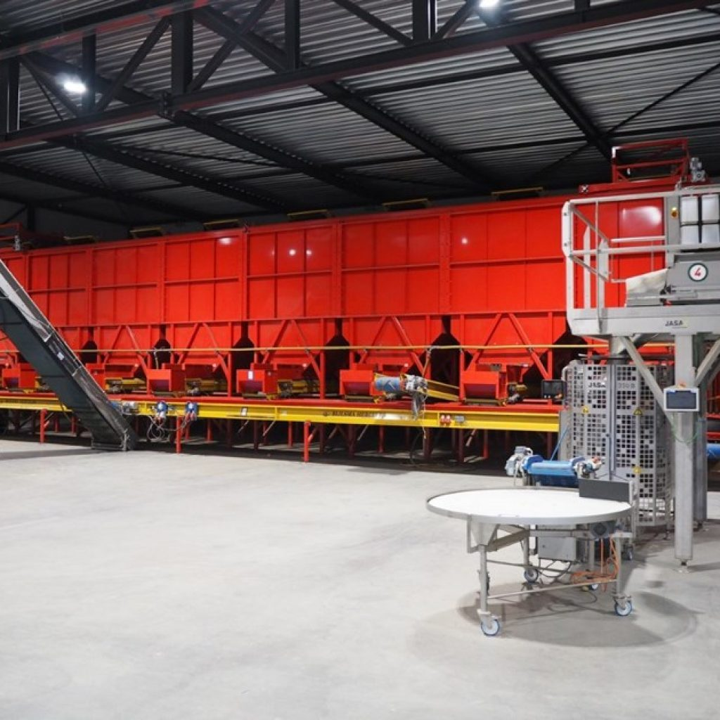 Bid online for potato processing and packaging machinery