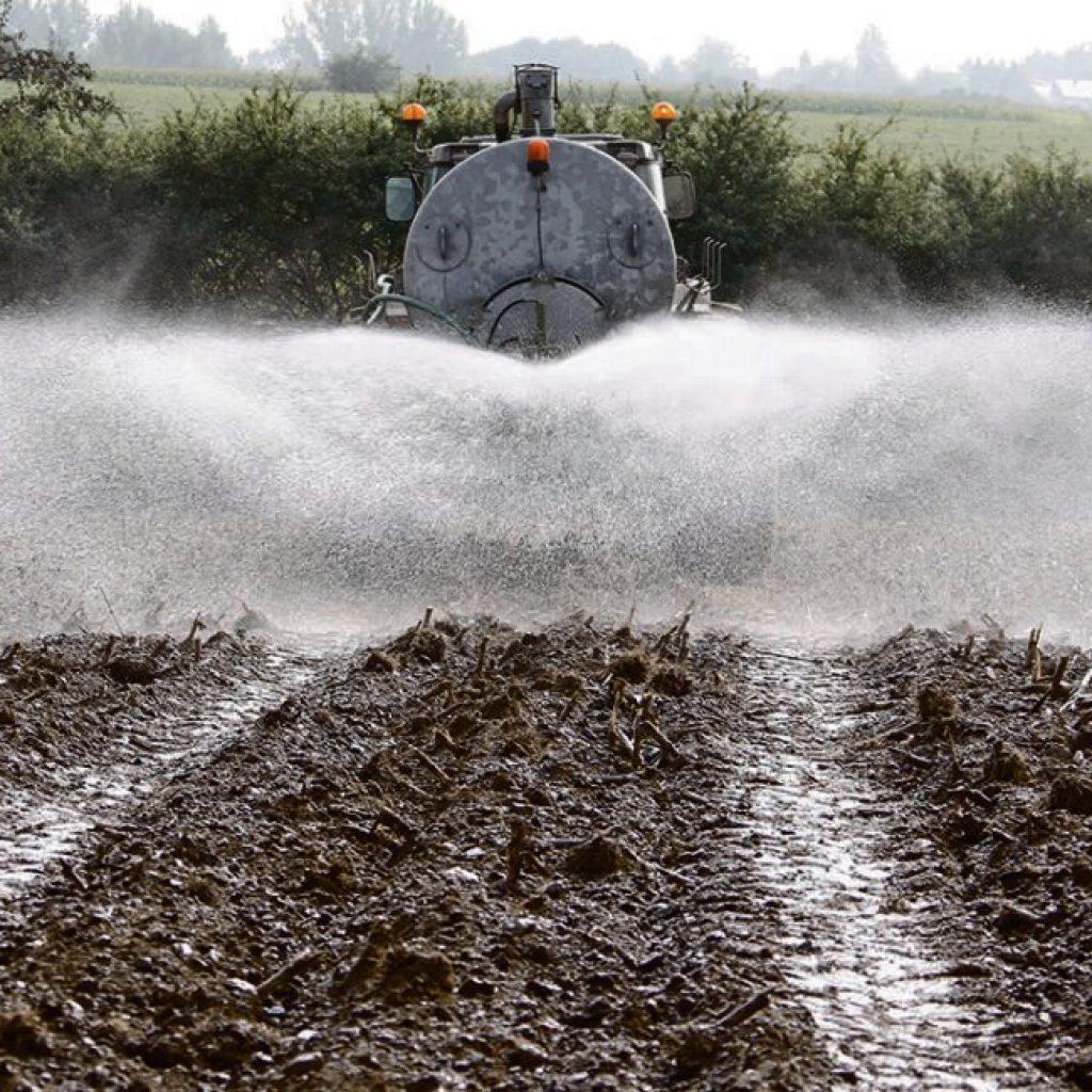 Surplus milk: dump it or soil-apply as fertilizer?
