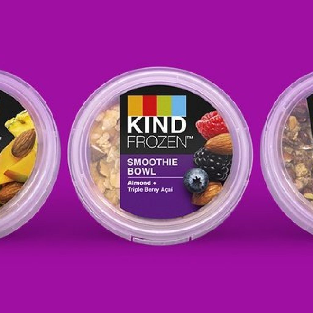 Kind debuts frozen breakfast smoothie bowl as consumers flock to the morning meal