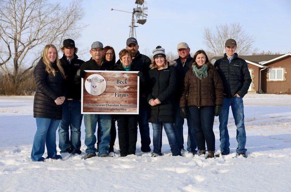 2020 Purebred Charolais Breeder of the Year for Saskatchewan