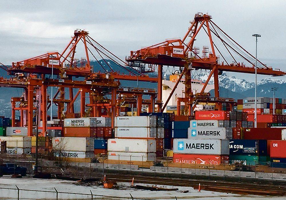 A Saskatchewan pulse crop shipper says container availability remains sporadic.