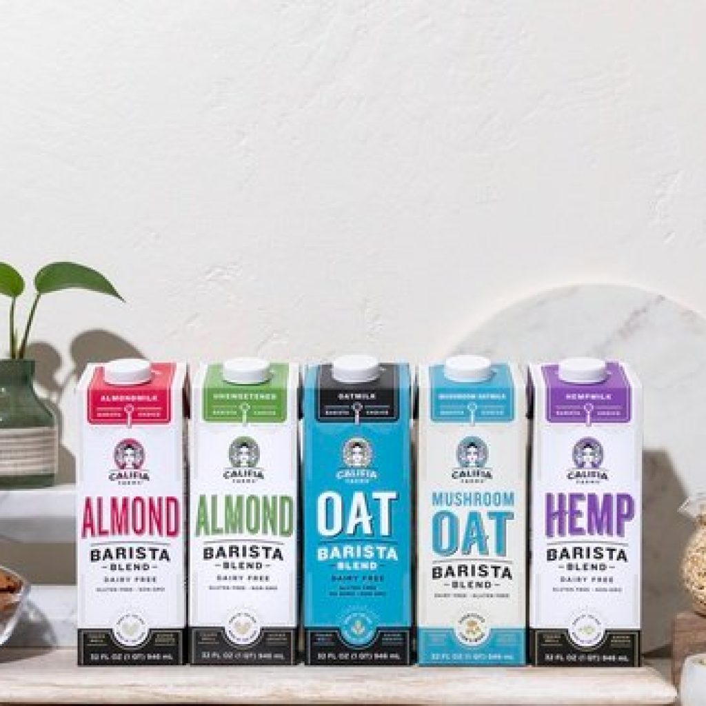 Leftovers: Califia Farms brings mushrooms to plant milks; Dunkin' adds a coffee jolt to jelly beans