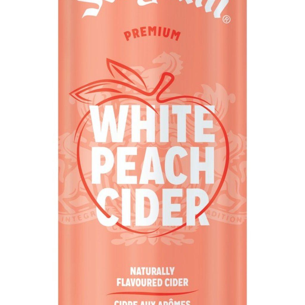 Seagram introduces White Peach Cider