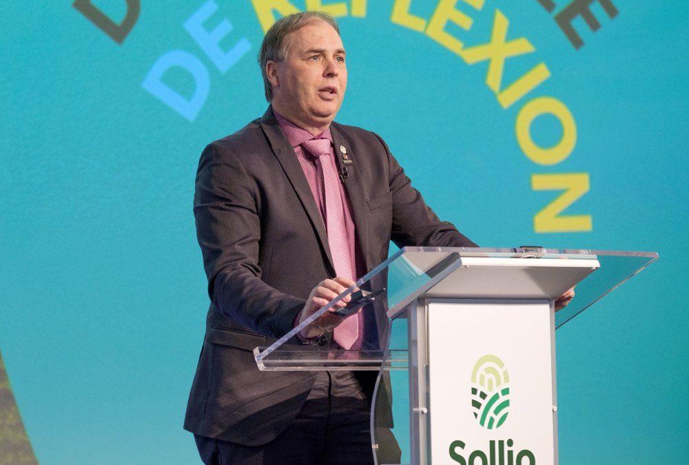 Ghislain Gervais, president of Sollio Cooperative Group.