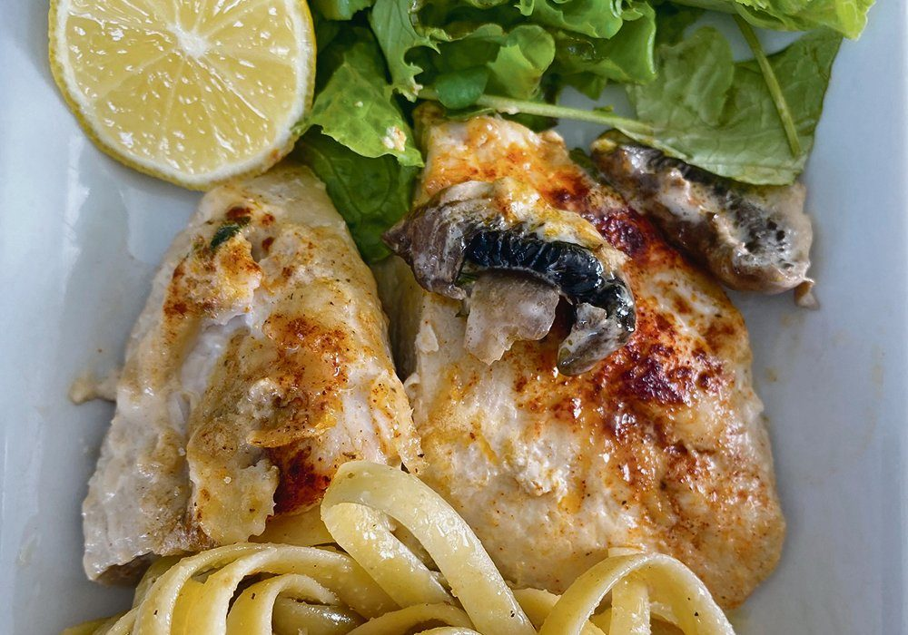 Lemon dressing can be used on greens and pasta and roasted into juicy chicken.