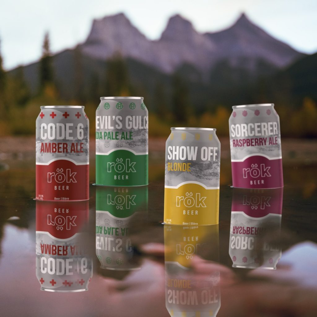 Beer news in Canada - rök from Calgary launches, and North of 41° expands sales