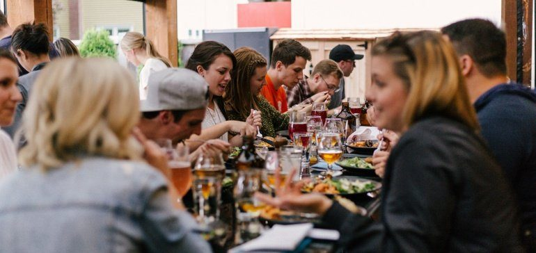 Which food sales will slump as restaurant dining reopens