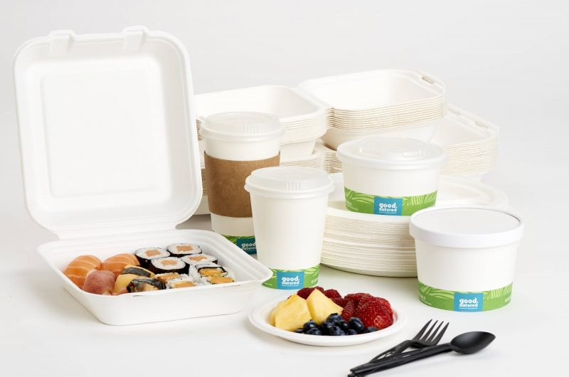 Canada's first compostable & microwavable plant-based packaging to address proposed ban on single-use take-out containers