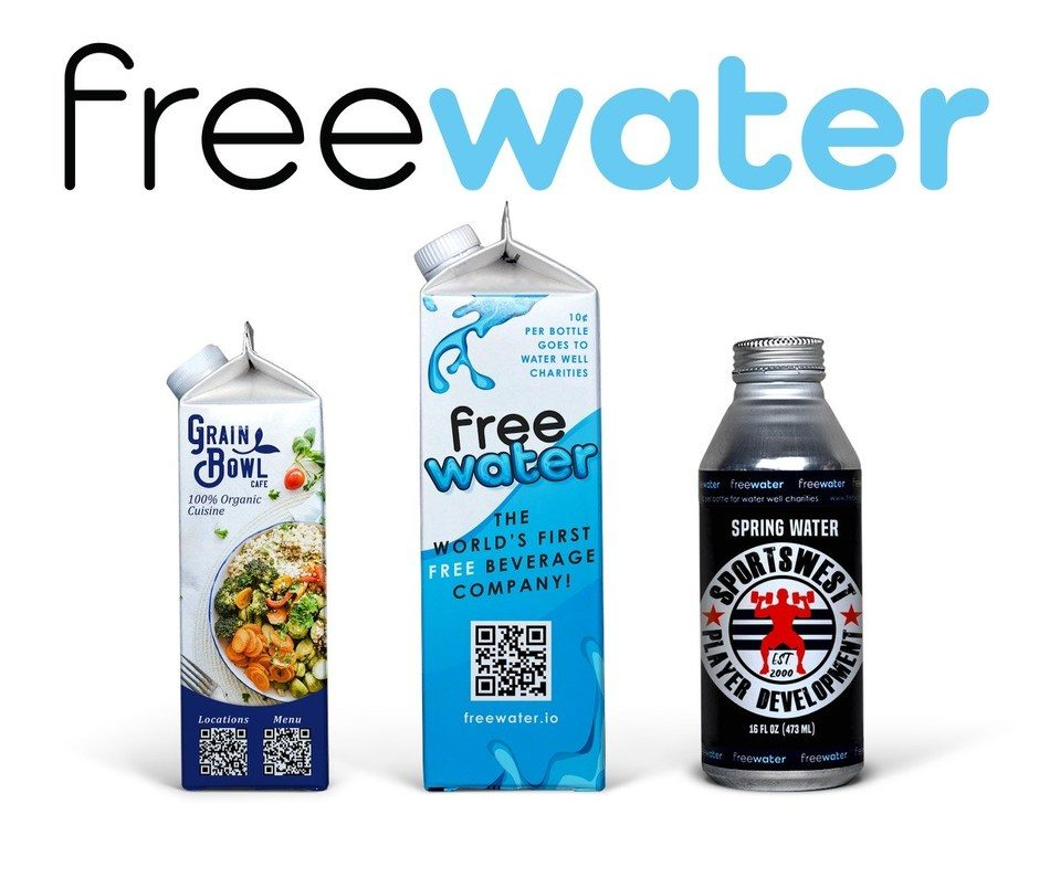 FreeWater, the world's first free beverage