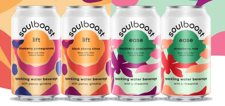 PepsiCo launches functional sparkling water drink Soulboost
