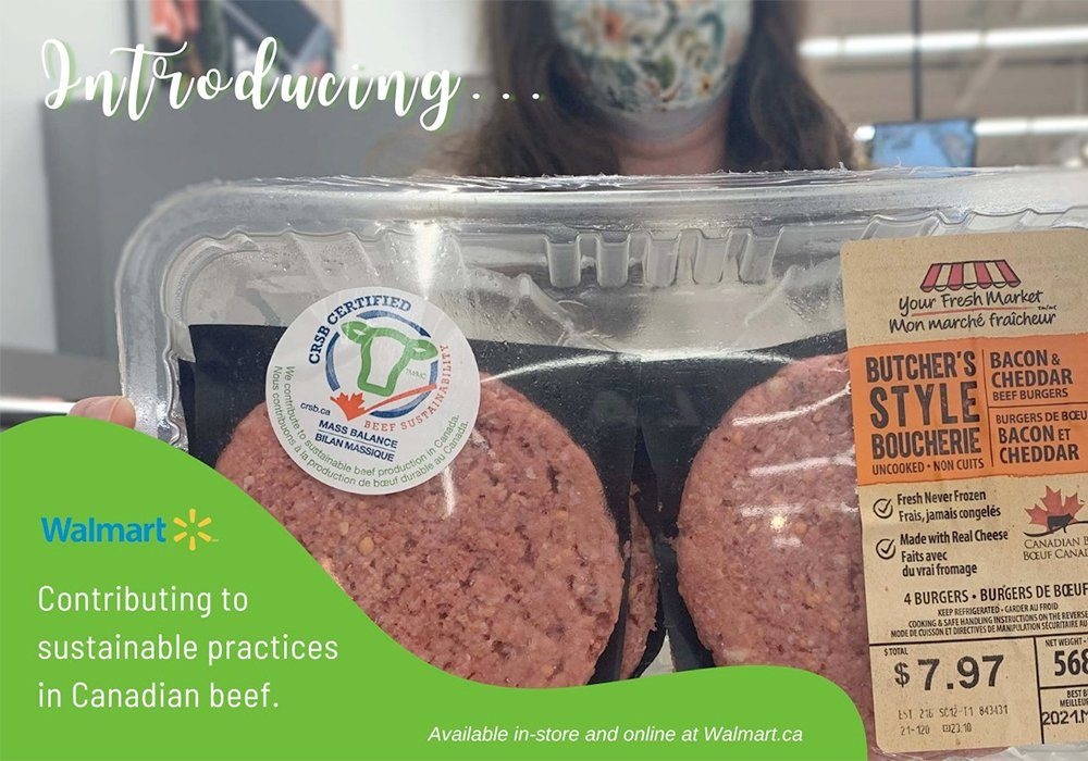 Walmart Canada announced May 10 that it is purchasing beef from farms and ranches that meet the standards of the Canadian Roundtable for Sustainable Beef.