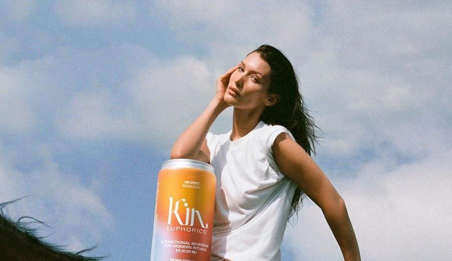 Bella Hadid's Kin Euphorics hits GCC e-shelves for thirsty fans