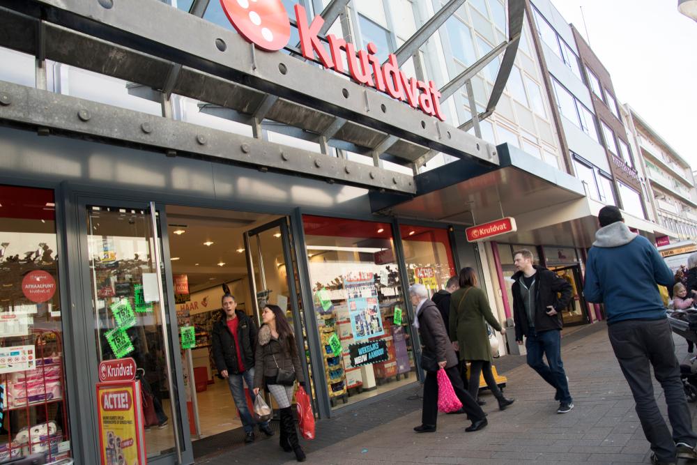 Waarom retailers zich liefst naast Kruidvat vestigen