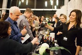 Vancouver International Wine Festival tasting room. HANDOUT. For Salut Feb. 2017. [PNG Merlin Archive]