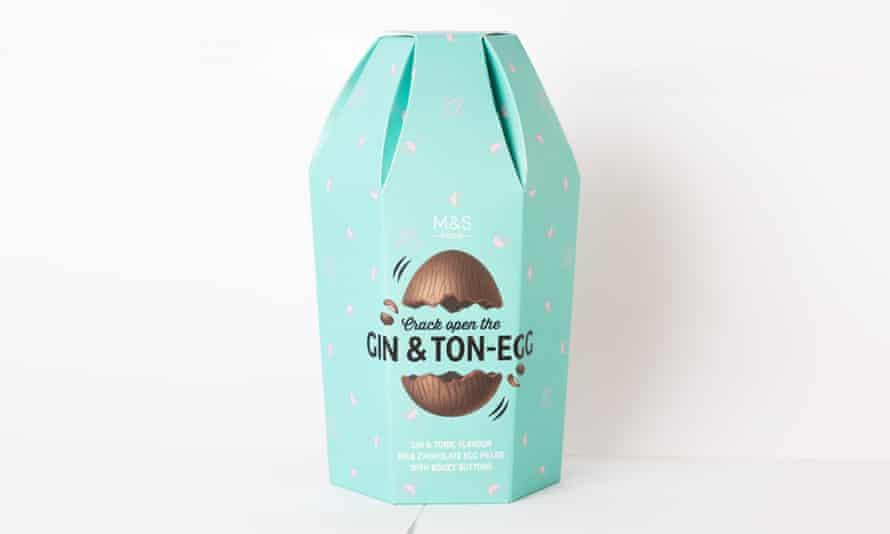 Marks & Spencer's Gin & Ton-egg