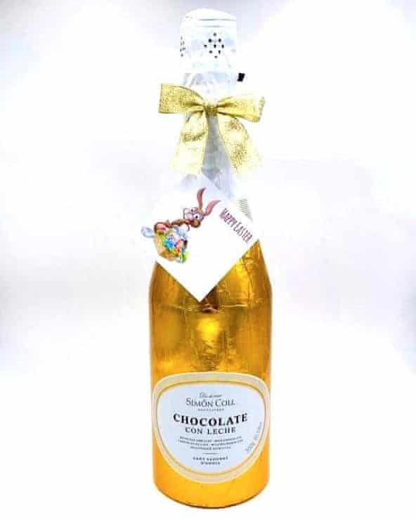 A 'champagne' bottle by Personalised Chocolates 4U