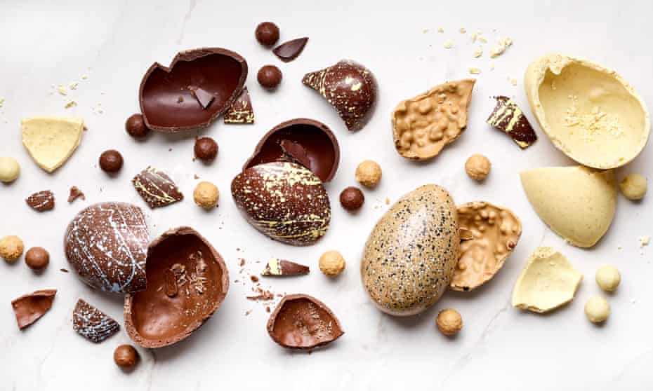 The Chocolate Society's Easter eggs