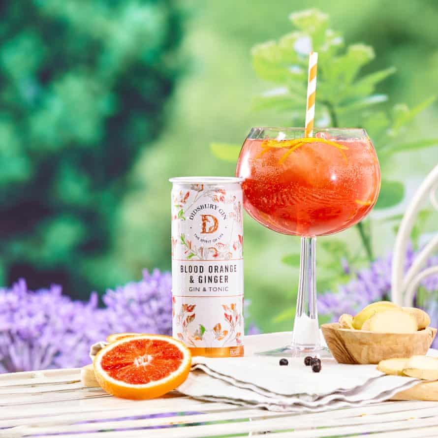 Didsbury Blood Orange and Ginger Gin and Tonic.