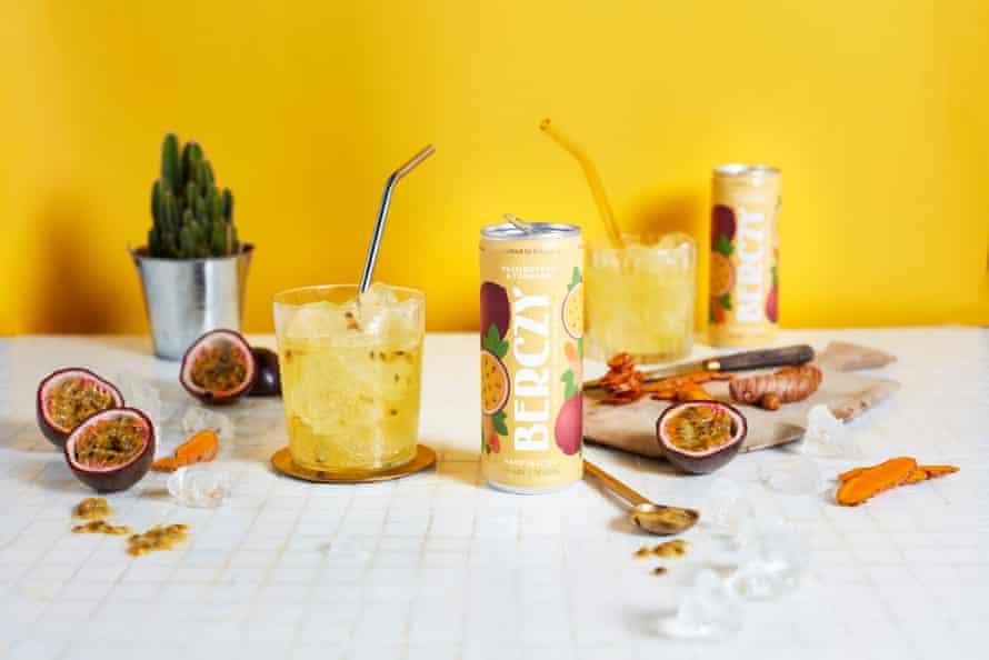 Berczy Passionfruit & Turmeric Shots.